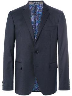 костюмный пиджак на трех пуговицах Etro