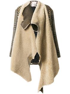 асимметричное пальто Antonio Marras