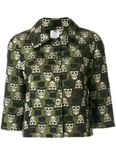 укороченная куртка с черепами Ultràchic