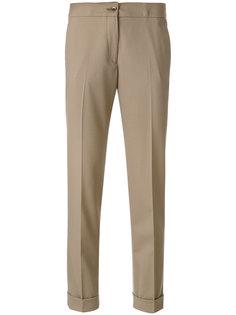 укороченные плиссированные брюки Etro