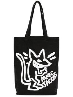 парусиновая сумка с принтом Stinky Rat Marc Jacobs