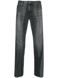 выбеленные джинсы Anrealage