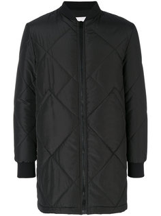 стеганое пальто MSGM
