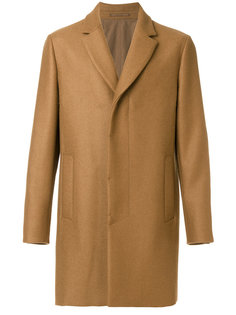 однобортное пальто Berluti