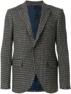приталенный твидовый пиджак Mp  Massimo Piombo