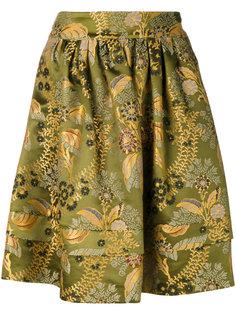 пышная юбка с цветочным узором  Etro