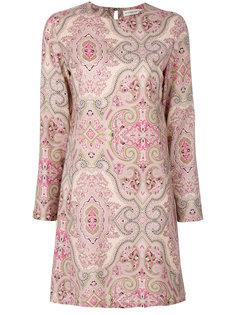 платье шифт с принтом пейсли  Etro
