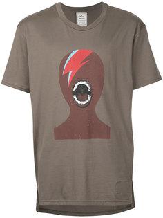футболка с принтом в виде головы Maison Mihara Yasuhiro