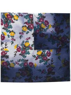 шарф с цветочным рисунком Golden Goose Deluxe Brand