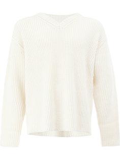 свитер с V-образным вырезом 08Sircus