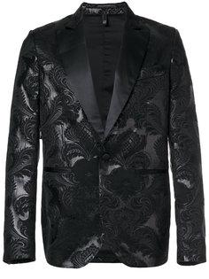 жаккардовый пиджак-смокинг Christian Pellizzari