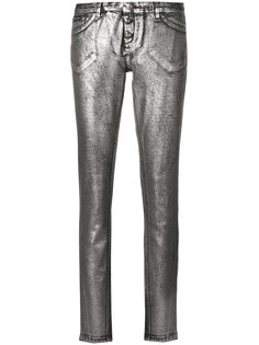 узкие брюки Philipp Plein