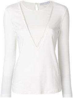 блузка с сетчатой вставкой  Fabiana Filippi