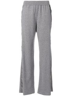 спортивные брюки с полосками по бокам Fabiana Filippi