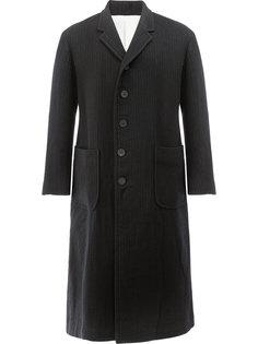 однобортное пальто 08Sircus