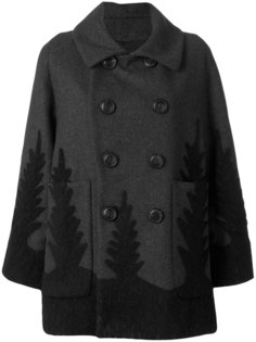 двубортное пальто  Dsquared2