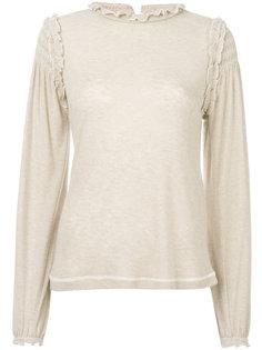 свитер тонкой вязки с оборками See By Chloé