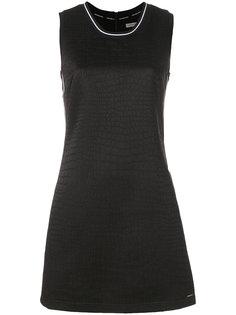 платье мини с эффектом крокодиловой кожи  Ck Jeans