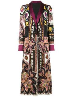 двухстороннее пальто-накидка Etro