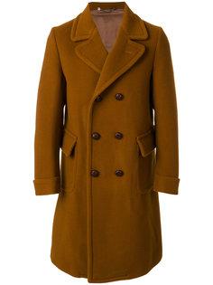 двубортное пальто Doppiaa