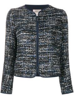 твидовый пиджак на молнии  Armani Collezioni