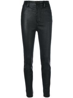 байкерские брюки скинни  Unravel Project