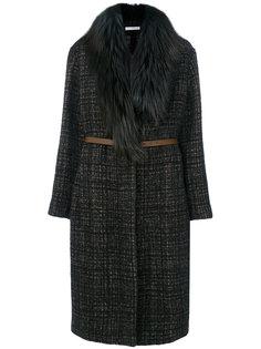 фактурное пальто  Fabiana Filippi