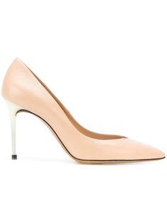 туфли-лодочки на контрастной шпильке Maison Margiela