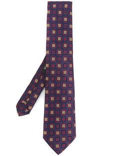 галстук с геометрическим узором Etro