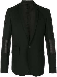 пиджак с панельным дизайном Les Hommes