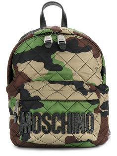 рюкзак с камуфляжным принтом Moschino