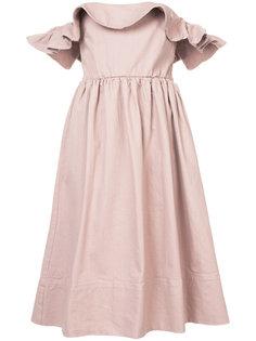 платье с открытыми плечами Apiece Apart