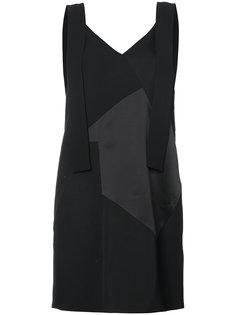 лоскутное платье Victoria Victoria Beckham