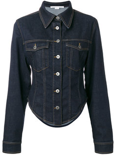 приталенная джинсовая куртка  Stella McCartney