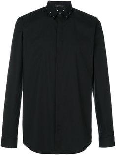 рубашка с заклепками на воротнике Versace