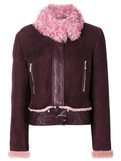 куртка с овчиной  Versace