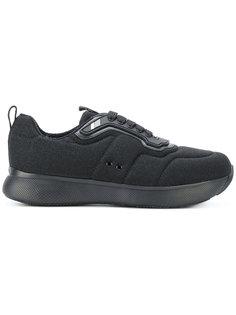 кроссовки на толстой подошве Prada