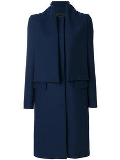 пальто с накладной панелью MSGM