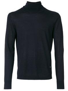 свитер с высоким воротником Emporio Armani