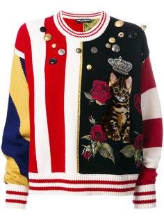 джемпер с декоративными пуговицами Dolce & Gabbana