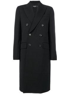 классическое пальто на пуговицах Dsquared2