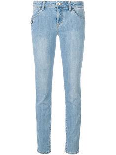 джинсы слим с булавкой  Versus