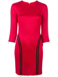 платье с контрастной отделкой  Versus