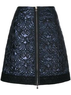 стеганая юбка А-образного силуэта D.Exterior