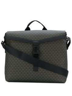 сумка-мессенджер с логотипом Emporio Armani