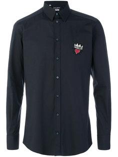 рубашка с нашивкой Prince Dolce & Gabbana