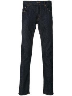 джинсы кроя слим Love Moschino