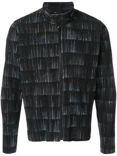 куртка на молнии Homme Plissé Issey Miyake