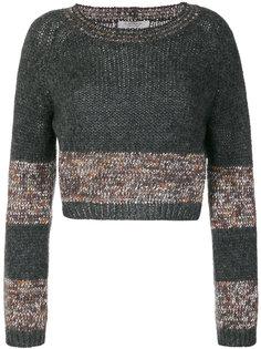 укороченный свитер D.Exterior