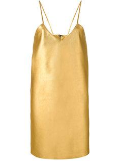 платье с V-образным вырезом  Manokhi
